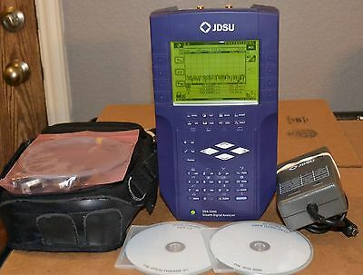 JDSU SDA-5000 Stealth Digital Sweep Analyzer w/Reverse Sweep, Accys, GOOD