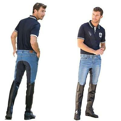 Goode Rider Men's Jean Rider-Full Seat Indigo Denim 28R