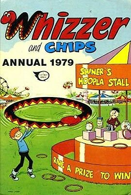 WHIZZER AND CHIPS ANNUAL 1979, Good Condition Book, No Author, ISBN 0850374782