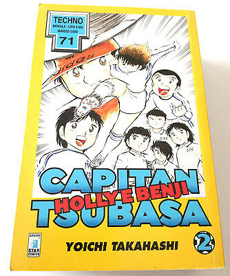 Capitan Tsubasa N.2 Holly E Benji Manga Star Comics Techno 71 Prima Edizione!