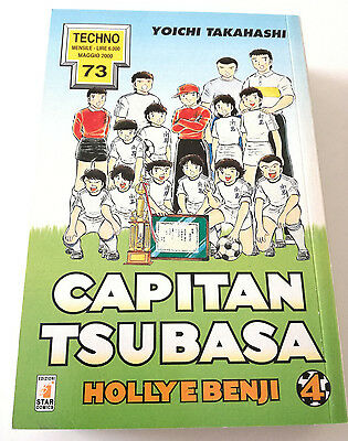 Capitan Tsubasa N.4 Holly E Benji Manga Star Comics Techno 73 Prima Edizione!