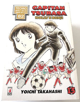 Capitan Tsubasa N.13 Holly E Benji Manga Star Comics Techno 82 Prima Edizione!