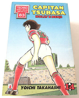 Capitan Tsubasa N.14 Holly E Benji Manga Star Comics Techno 83 Prima Edizione!