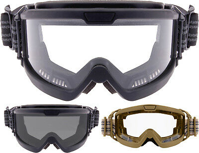 Over The Glasses UV 400 Military Tactical Ballistic Goggles