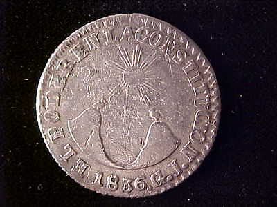 Ecuador Two Reales 1836 Fine To Very Fine