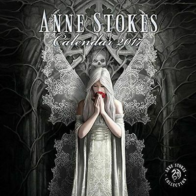Stunning Official Anne Stokes 2017 Square Calendar