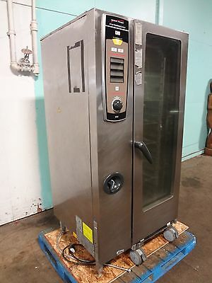 """""""henny Penny"""" Commercial Natural.gas Roll-In Smart Cooking Chicken Roaster Oven"""