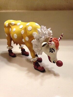 COW PARADE You Can't Have A Parade Without A Clown. NWT n Box