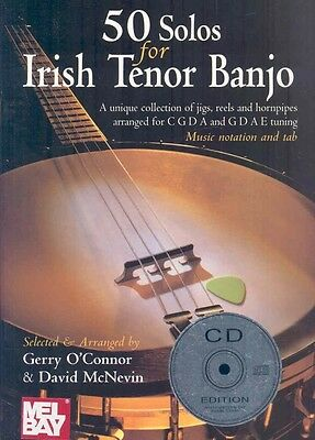 50 Solos for Irish Tenor Banjo [With CD] by Paperback Book (English)