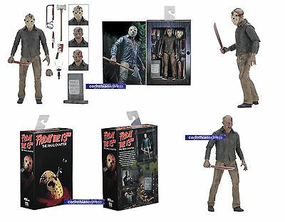 "NECA FRIDAY THE 13TH PART 4 ULTIMATE JASON VORHEES 7"" ACTION FIGURE 2017 release"