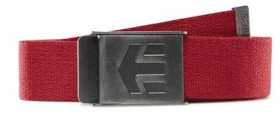 Etnies Staplez Belt One Size Red   Heather Cinturones