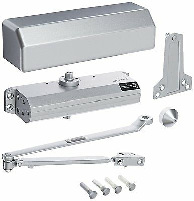 Hager 5300 Series Aluminum Grade 1 Heavy Duty Surface Door Closer, Multi-Mount,