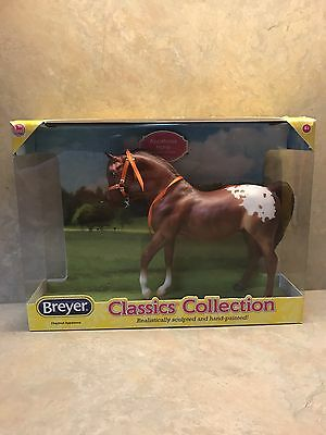 Breyer Chestnut Appaloosa Classic Collection Pre-Owned With Box