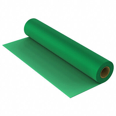 ACL Staticide 8185GR2440 Dissipative Workbench Grounding Mat Green 40' x 2' Roll