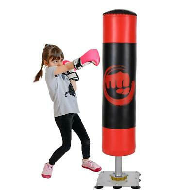 "35""/90cm Punching Bag Boxing Exercise Punch Thai MMA Chains Kick Set (Empty)"