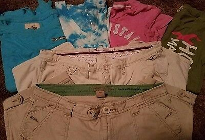 ~**Lot of Womens Name Brand Casual Shirts and shorts S,M,L**~