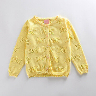 spring autun and winter girls' sweaters fashion Kid children cardigans Butterfly