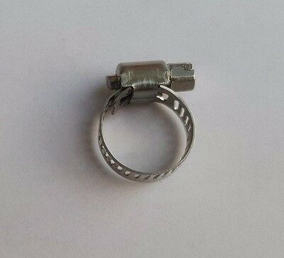 """Breeze Marine Grade All 316 Stainless Steel Hose Clamp 2-3//8/"""" to 3-1//8/"""""""