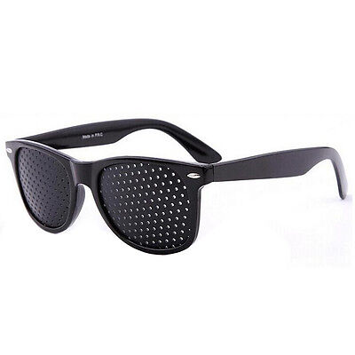 Vision Care Glasses Eyesight ImproverGlasses Pinhole Glasses Black High Quality