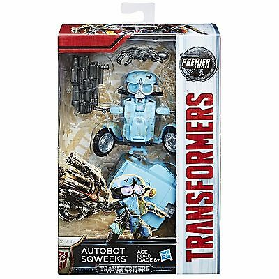 Transformers Mv5 The Last Knight Deluxe Autobot Sqweeks Premier Edition