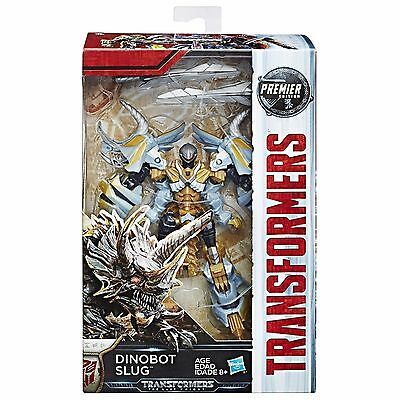 Hasbro Transformers Mv5 The Last Knight Deluxe Dinobot Slug Premier Edition