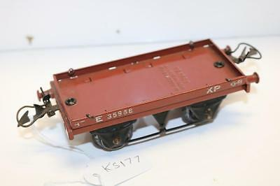 Hornby Xp  Flat Car Missing 1 Buffer Other Wise Very Good Ks177