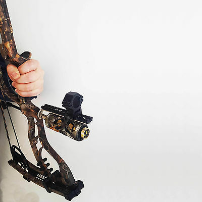 Compound bow Barrel Holder Rail for Laser Sight Flashlight Night Shooting Props