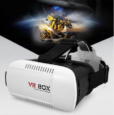 VR BOX V2 3D Virtual Reality Glasses 3D VR Headset - For 3D Movies and Games