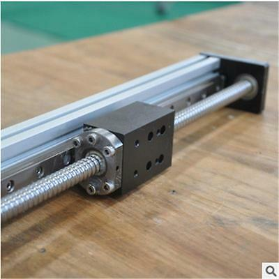Free shipping industial aluminium 400mm stroke ballscrew linear actuator for cnc