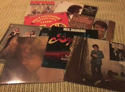 Bulk Lot Vinyl Lp Records Various Artists