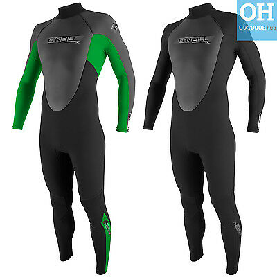 O'Neill 3/2mm Adult Mens Reactor Full Wetsuit Flatlock Steamer Surf Kayak Sail