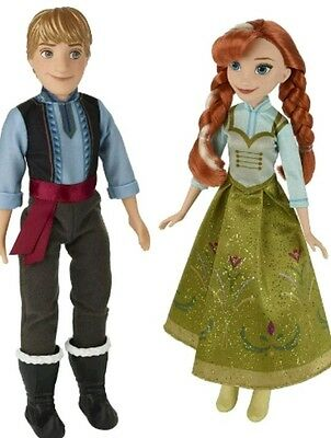 Frozen Disney Frozen Anna and Kristoff Doll - Pack of 2 Toy Kids Gift Idea New