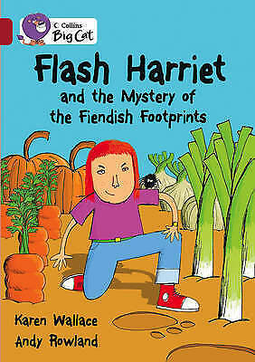 Flash Harriet and the Mystery of the Fiendish Footprints: Band 14/Ruby (Collins