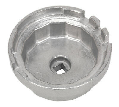 Oil Filter Cap Wrench Dia.64.5Mm X 14 Flutes - Lexus/Toyota From Sealey Vs7112 S