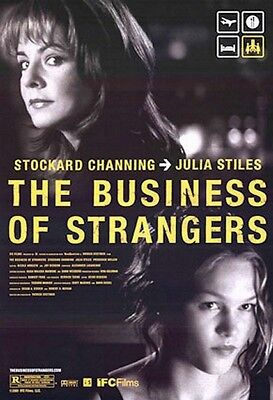 Business of Strangers Original Movie Poster SS US 27x40/41 Stettner Channing WD