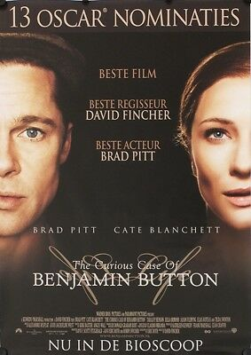 Curious Case of Benjamin Button Original Movie Poster DS Dutch Netherlands EU