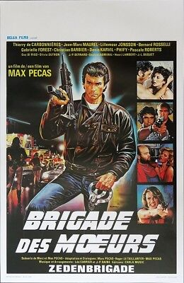 Brigade Of Death Original Movie Poster SS Belgium Belgian Max Pecas Casaro A WD
