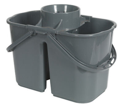 Mop Bucket 15Ltr - 2 Compartment From Sealey Bm07 Syd