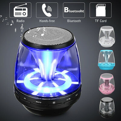 Mini Bluetooth Speaker Wireless Rechargeable Super Bass For Smartphone Tablet