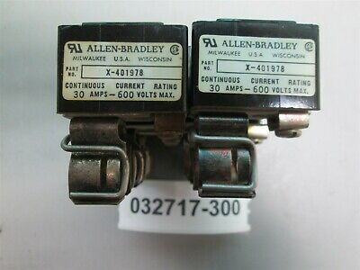 Lot of 16, Allen Bradley X-401978 Fuse Block Trailer