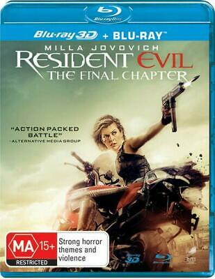 Resident Evil - Final Chapter, The | 3D + 2D Blu-Ray + UV - Blu Ray Region B Fre