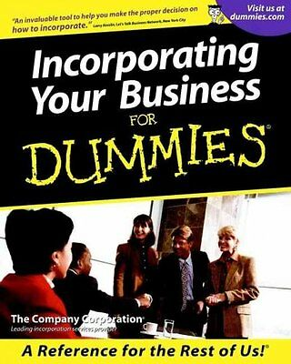 Incorporating Your Business For Dummies,  The Company Corporation