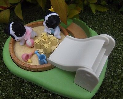 Sylvanian Families Complete Boxed Discontinued Perfect Sandpit & Paddling Pool