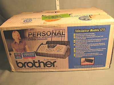 BROTHER FAX-575 Personal Fax Phone and Copier - NEW