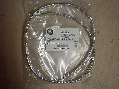 NOS ALLEN BRADLEY 43GT-TBB25SL GLASS FIBER OPTIC CABLE stainless sheath