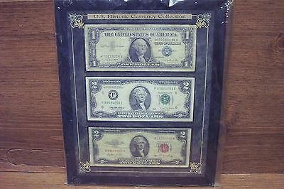 Lot Of Three U.s. Historic Currency Collection