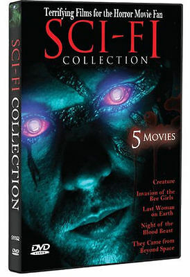 Sci-Fi Collection: 5 Movies (DVD, 2010) Creature / Invasion of the   - Brand New