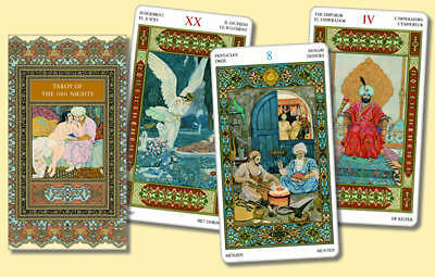 Tarot of the 1001 Nights, Bepi Vigna
