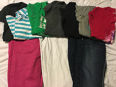 Junior Teen & Women Lot of 10 T-Shirts Jeans Rue 21 Mix NICE Condition SZ-0 & SM