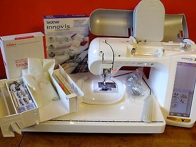 BROTHER INNOVIS 40D Sewing Embroidery Machine 40 Builtin Extraordinary Brother 4000d Sewing Embroidery Machine